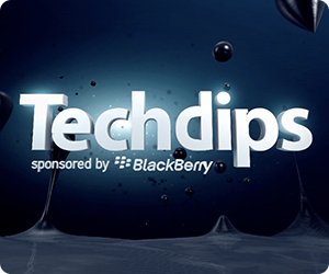 Techdips on Dipdive by BlackBerry