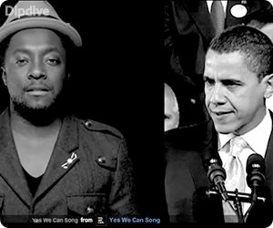 Yes We Can - Barack Obama (will.i.am and friends)