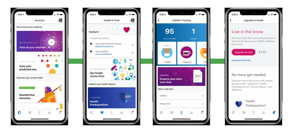 23andMe iOS Mobile App